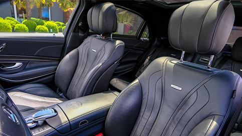 Mercedes 63 AMG Limousine